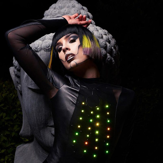 Lumen Couture Fashiontech Apparel Led Light Up Gowns And Dresses
